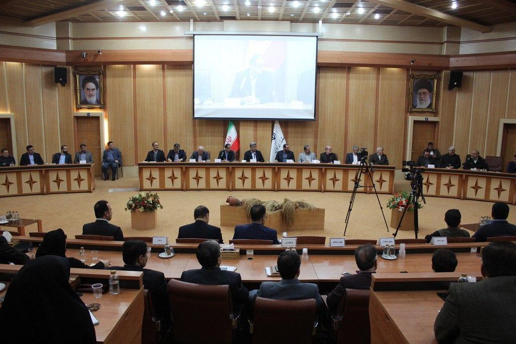 حضور سرپرست شهرداری رشت در جلسه شورای اداری استان گیلان