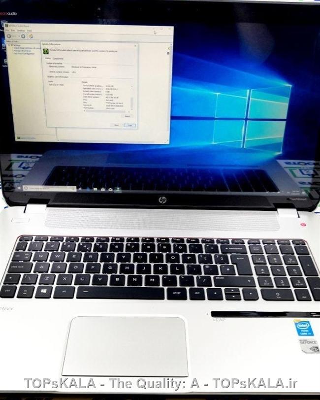 فروش لپ تاپ استوک HP مدل HP ENVY 17
