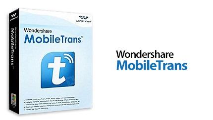 دانلود Wondershare MobileTrans v8.0.0.609 - نرم افزار انتقال اطلاعات بین دو گوشی موبایل