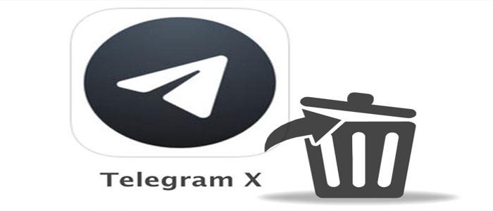 چگونه اکانت تلگرام ایکس را حذف کنیم
