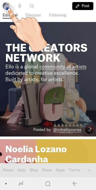 Learn to delete the social network account of Elo - Dell account ello