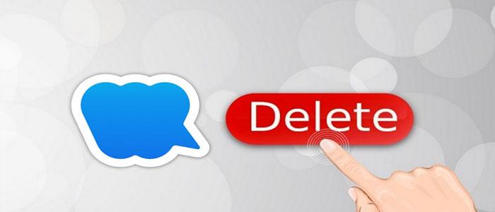 نحوه حذف کامل حساب کاربری در پیام رسان ویسپی - دیلیت اکانت ویسپی