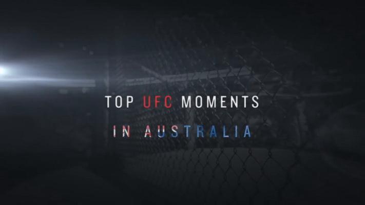 برترین لحظات یو اف سی در استرالیا | Top UFC Moments in Australia