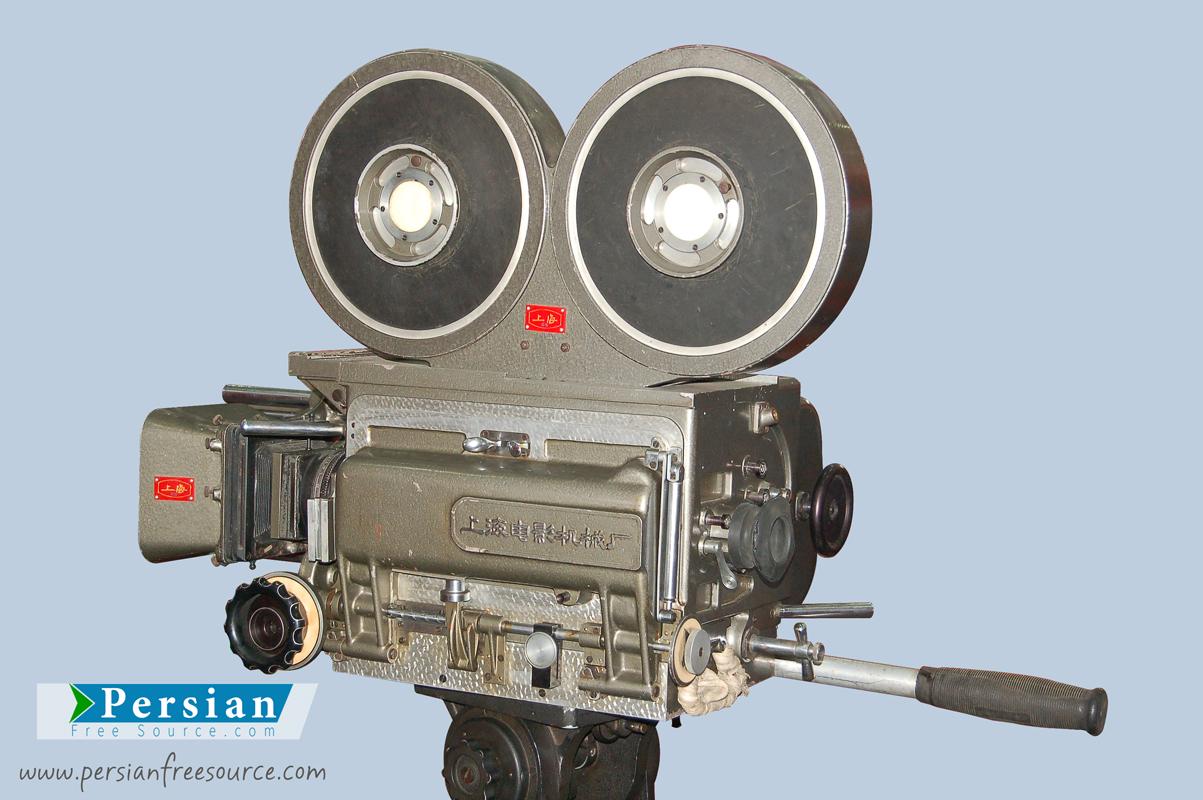 دانلود فایل لایه باز دوربین فیلمبرداری قدیمی