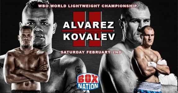 دانلود مبارزات بوکس |Sergey Kovalev vs Eleider Alvarez 2+Undercard
