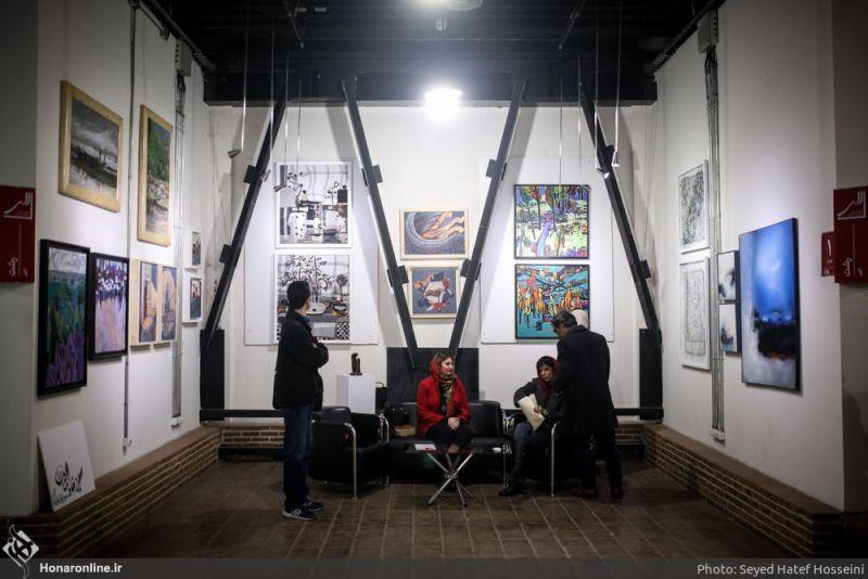 نگارخانه الهی رشت نماینده گیلان در چهار سوی هنر تهران