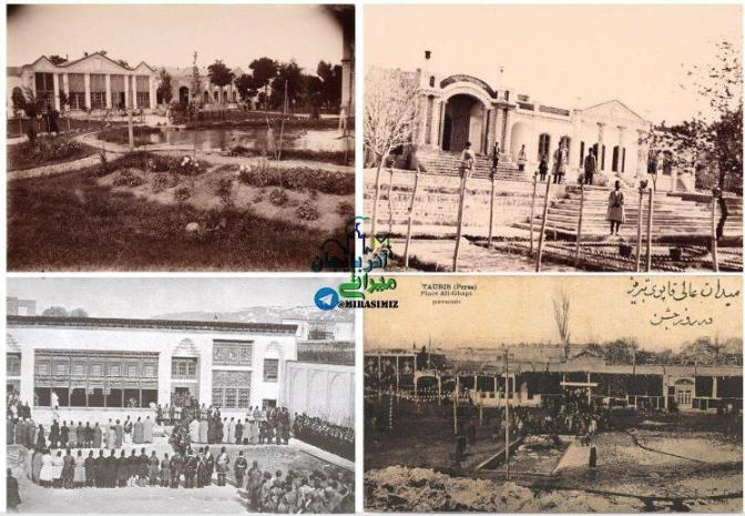 عمارتهای ارگ سرکاری تبریز