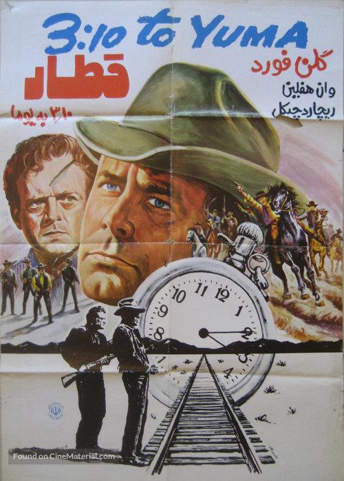 دانلود دوبله فارسی فیلم قطار ۳:۱۰ به یوما ۳:۱۰ to Yuma 1957