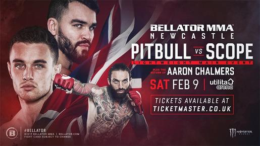 دانلود مسابقات بلاتور  |Bellator Newcastle: Pitbull vs. Scope  +تک مبارزه