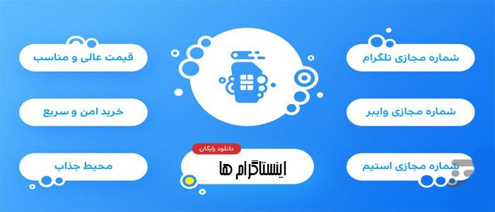 آموزش ساخت شماره مجازی شامل 12 برنامه به همراه دانلود و آموزش