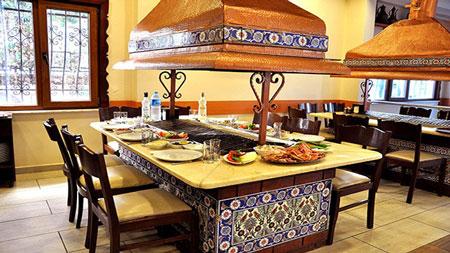 رستوران Hünkar در استانبول