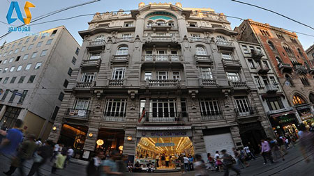 گالری هنری Mısır Apartmanı  در استانبول