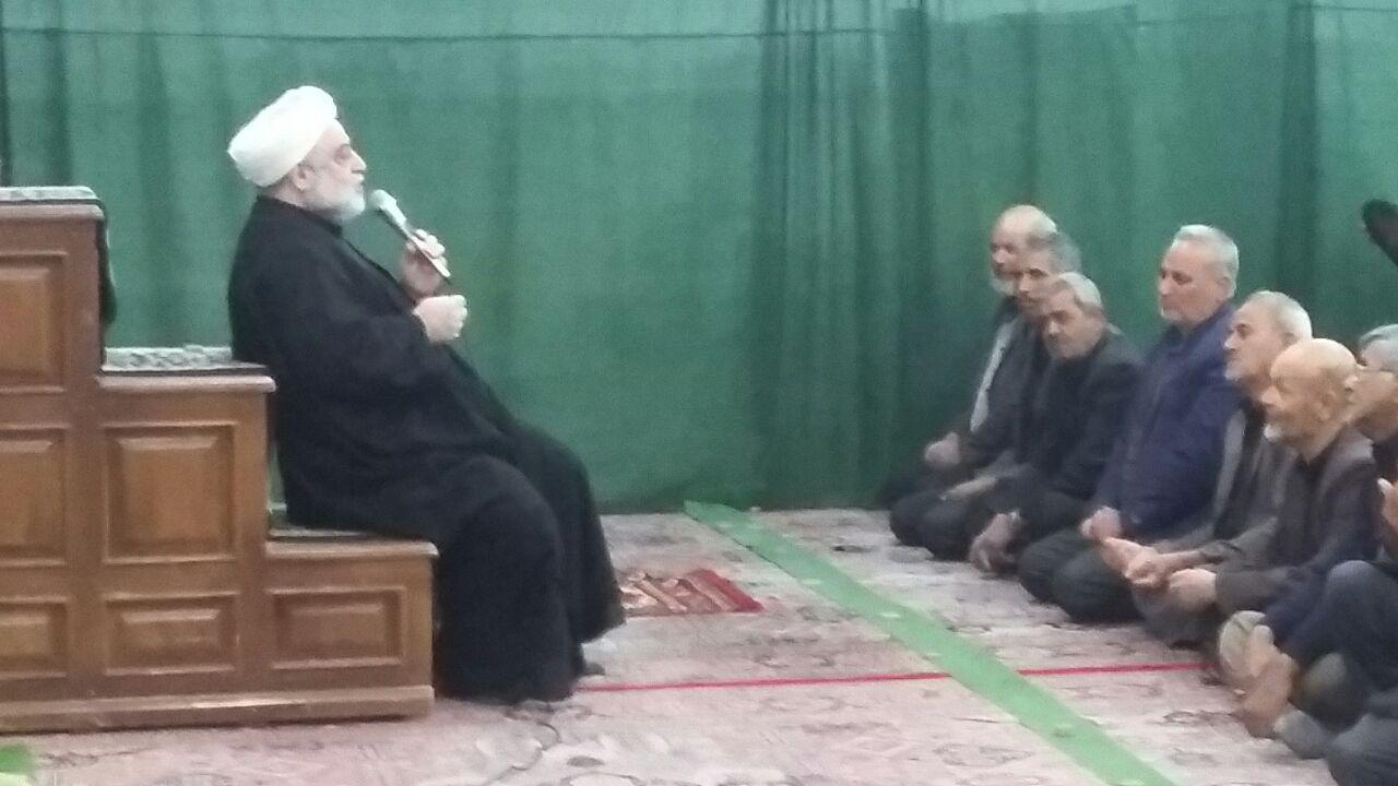 مراسم شام غریبان حضرت زهرا سلام الله علیها درحسن آباد صادق الائمه علیه السلام نوق رفسنجان
