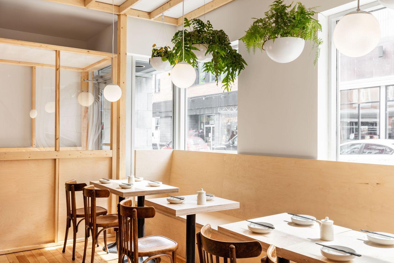 رستورانی با سبک و سیاق صنعتی و بوهمیایی