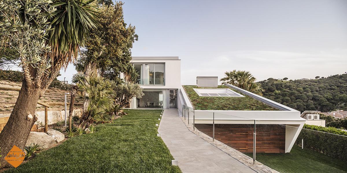طراحی خانه ای مدیترانه ای در اسپانیا