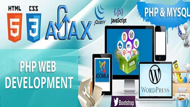 طراحی صفحات وب | طراحی سایت با PHP | ایجاد صفحات وب