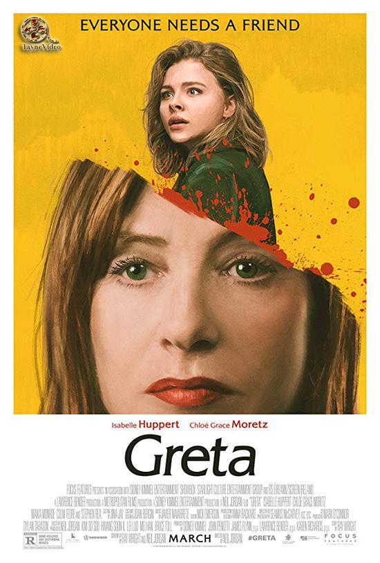 دانلود فیلم گرتا - greta 2018