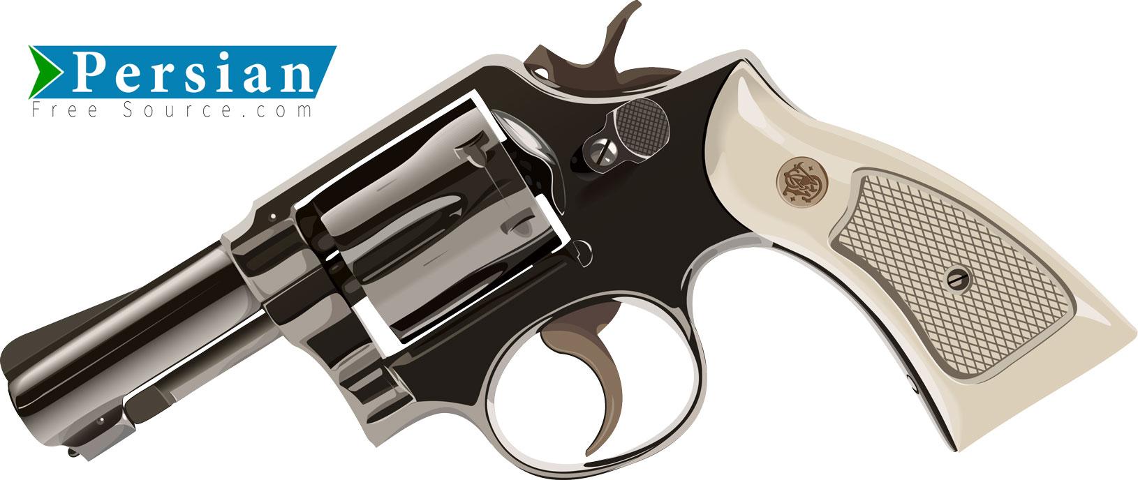 دانلود وکتور لایه باز اسلحه