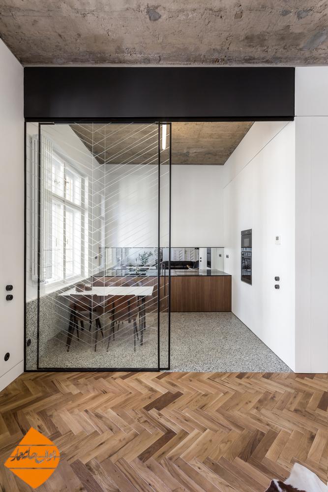 طراحی و بازسازی آپارتمانی متفاوت در رومانی