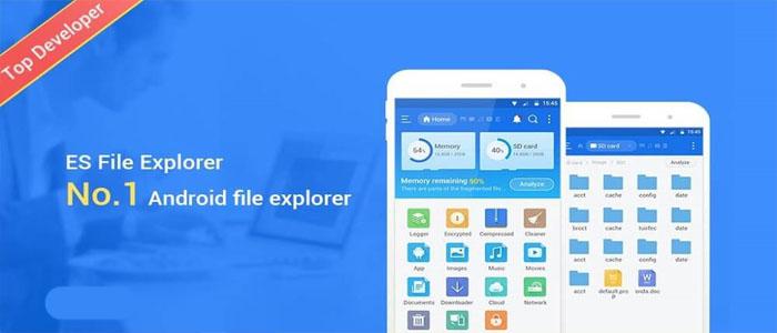 دانلود ES File Explorer Pro ای اس فایل اکسپلورر پرو بهترین منیجر اندروید