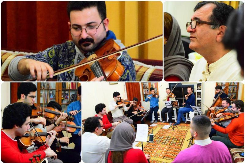 اجرای ترانه های خاطره انگیز سرزمین گیلان توسط آنسامبل ما