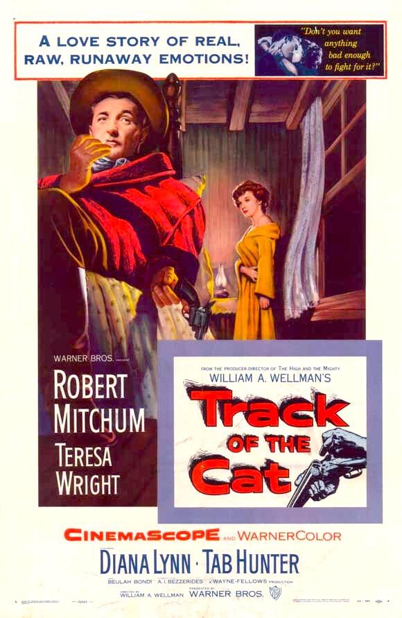 دانلود دوبله فارسی فیلم رد گربه Track of the Cat 1954