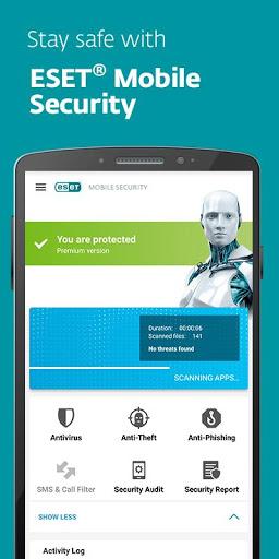 دانلود ESET Mobile Security نسخه جدید آنتی ویروس نود 32 برای اندروید