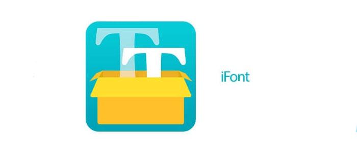 دانلود iFont نسخه جدید آی فونت تغییر فونت گوشی اندروید