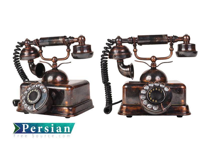 دانلود فایل لایه باز و باکیفیت تلفن قدیمی Old Phone