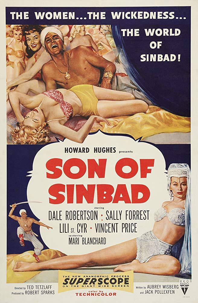 دانلود دوبله فارسی فیلم پسر سندباد Son of Sinbad 1955