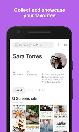 دانلود Pinterest نسخه جدید شبکه اجتماعی پینترست برای اندروید