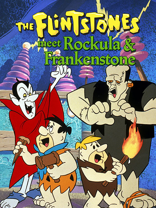 دانلود انیمیشن The Flintstones Meet Rockula and Frankenstone 1980