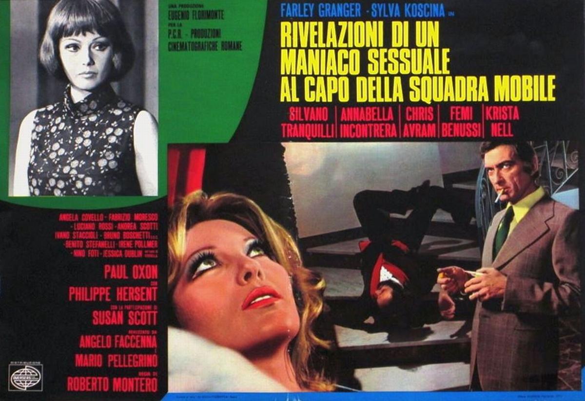 دانلود دوبله فارسی فیلم جذاب ولی مرده  Rivelazioni di un maniaco sessuale al capo della squadra mobile 1972