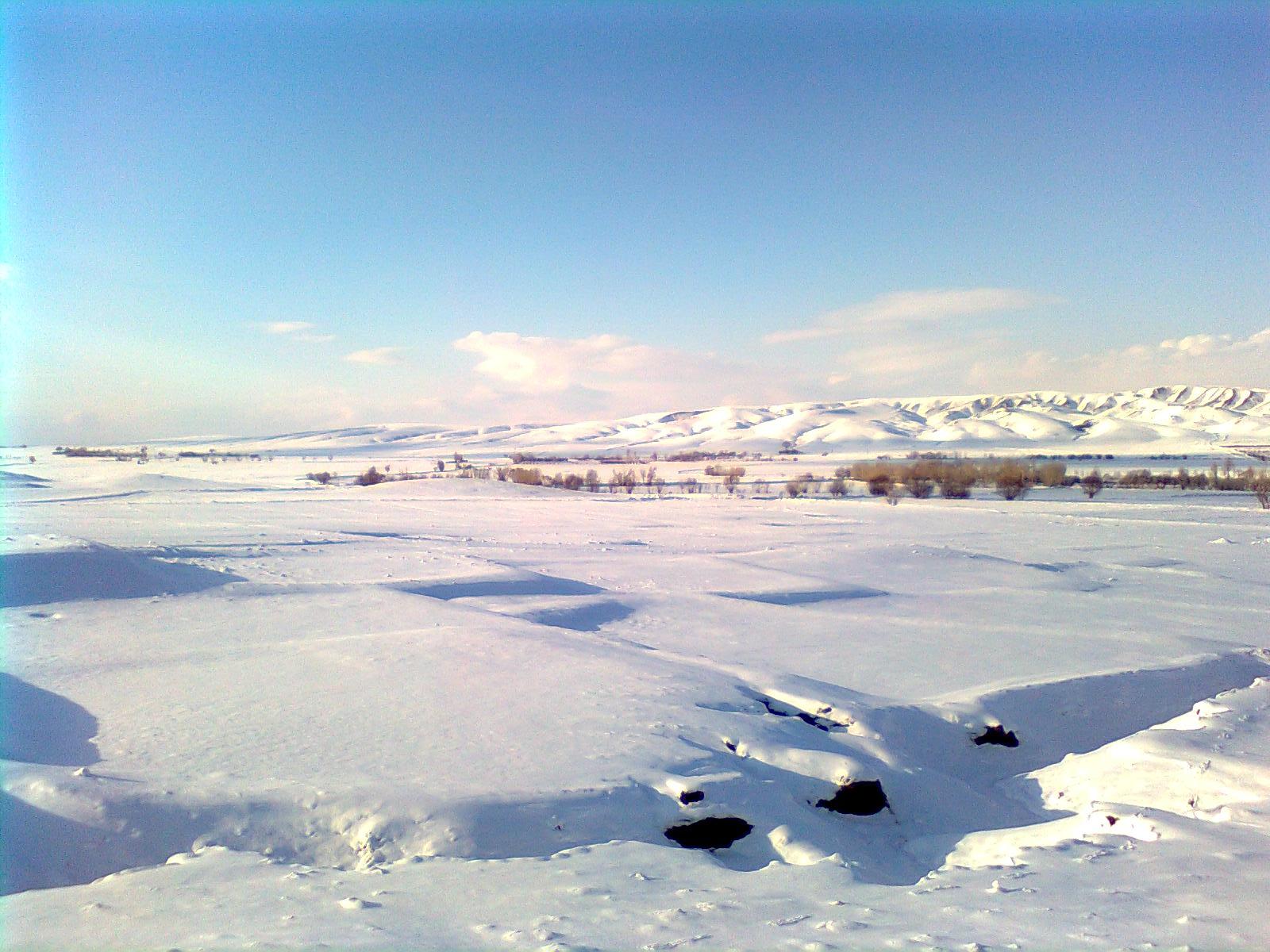 طبیعت زمستانی دانباران