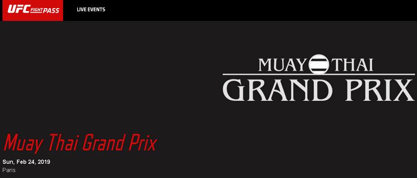 دانلود مبارزات موی تای : Muay Thai Grand Prix 2019.02.24