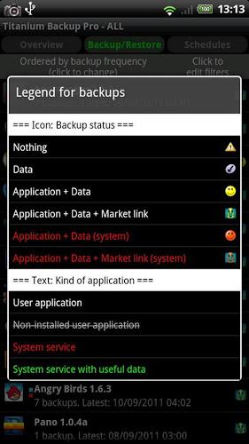 دانلود Titanium Backup Pro نسخه جدید برنامه تیتانیوم بکاپ برای اندروید