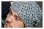 مدل کلاه مردانه بافتنی