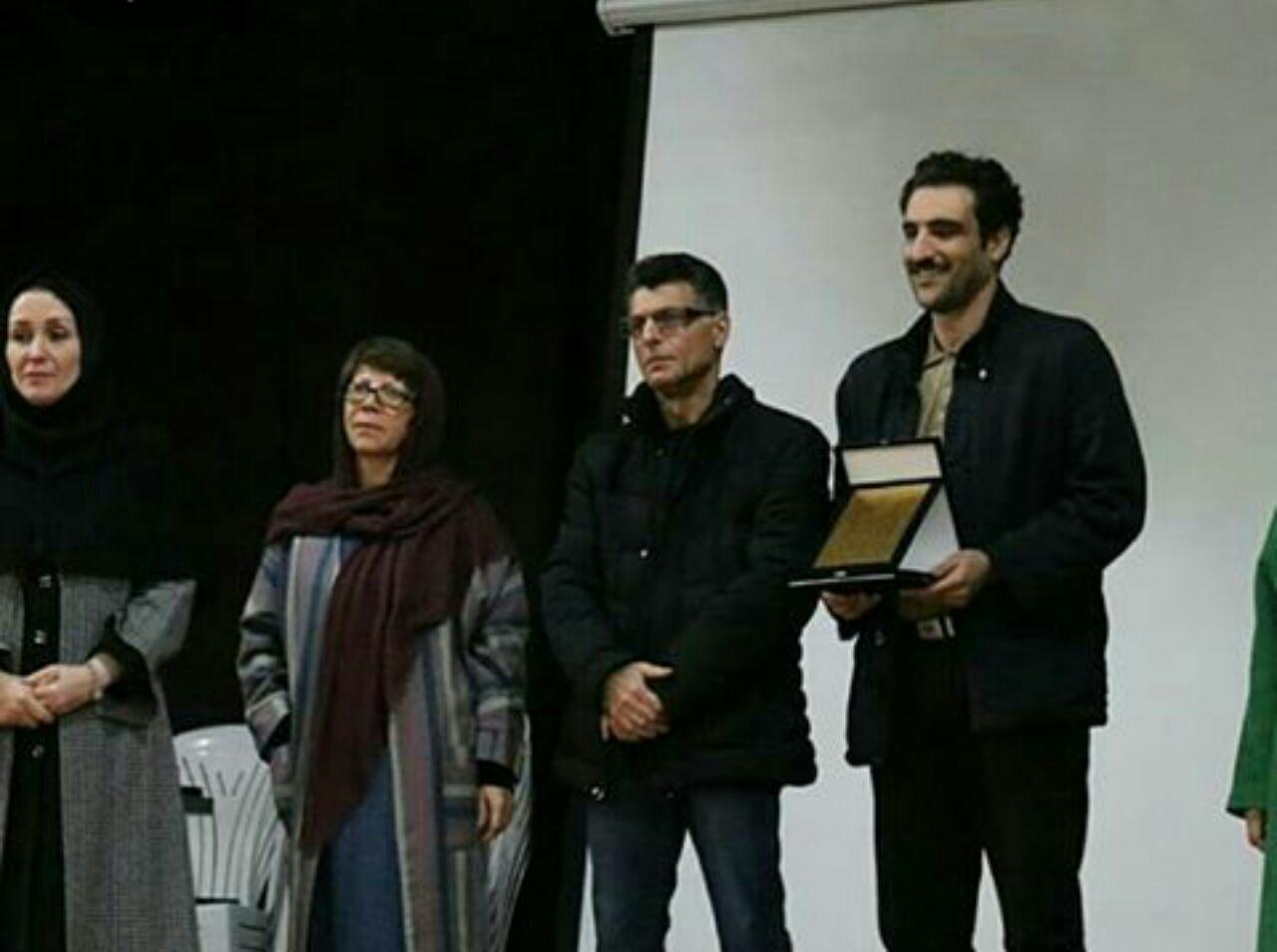 وحید شعبانی، برنده جایزه ادبی بیژن نجدی شد