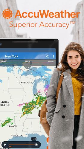 دانلود AccuWeather نسخه جدید برنامه دقیق ترین برنامه هواشناسی اندروید