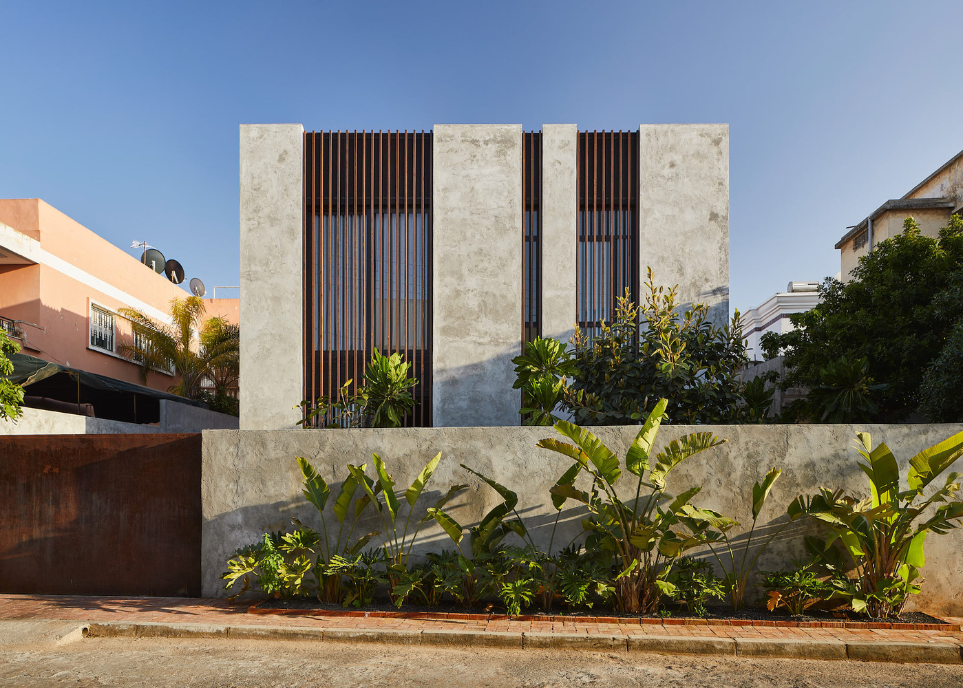 طراحی خانه ای در سبک صنعتی در مراکش
