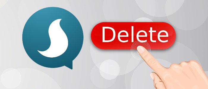 پاک کردن حساب کاربری در پیام رسان سروش - آموزش حذف اکانت سروش