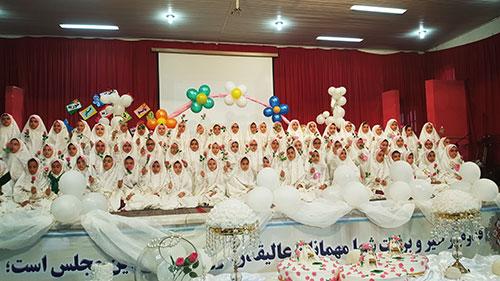 برگزاری جشن تکلیف در دبستان دخترانه مجتمع آموزشی حضرت مجتبی(ع)