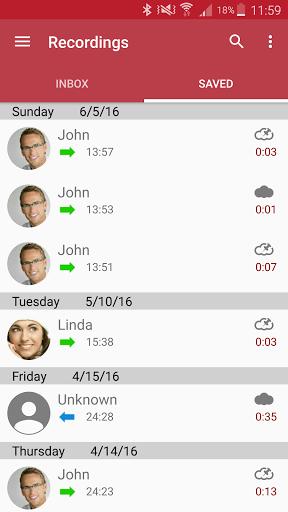 دانلود Automatic Call Recorder Pro ذخیره خودکار مکالمات در اندروید
