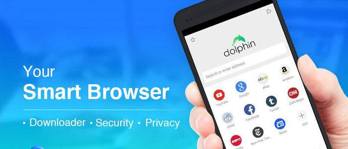 دانلود Dolphin نسخه جدید مرورگر سریع دلفین برای اندروید