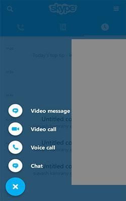 ساخت اکانت اسکایپ skype در اندروید