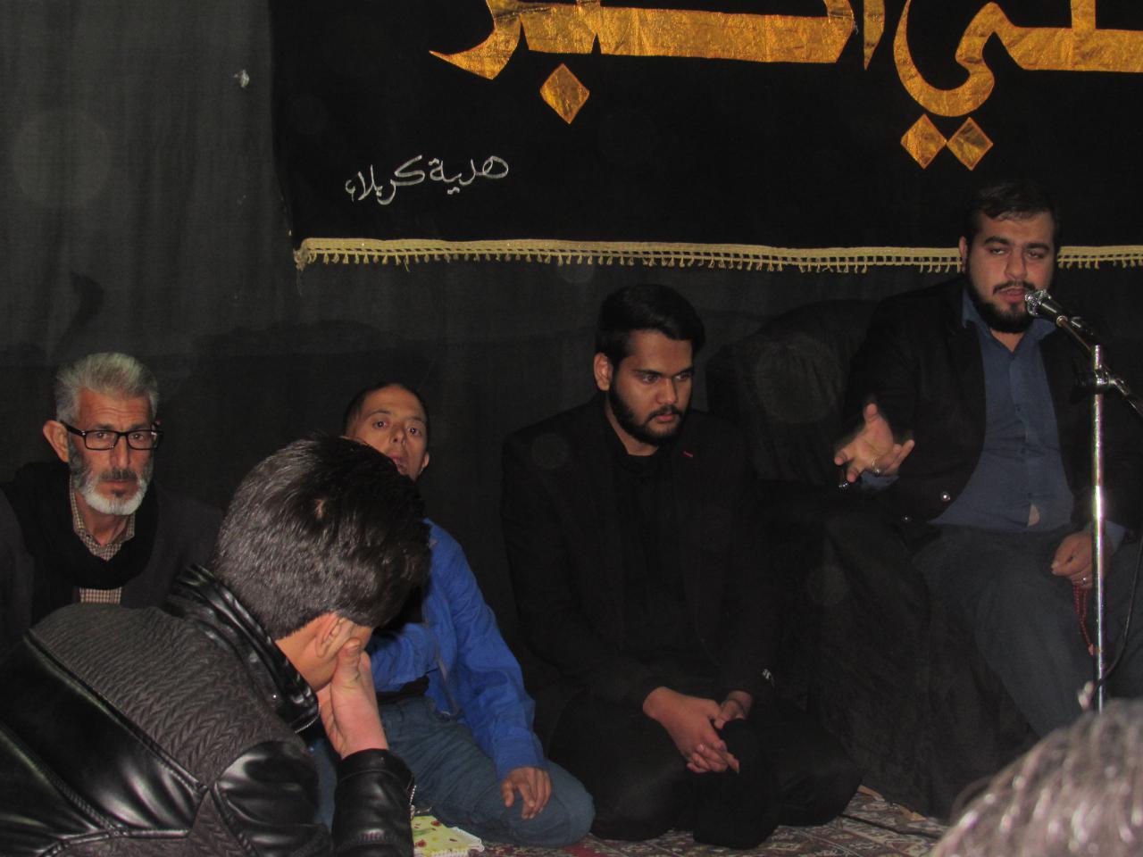 مراسم سوگواری  شهادت  امام هادی علیه السلام در محله صادقیون