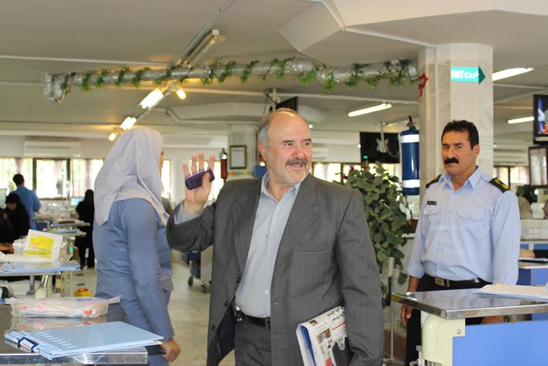 خداحافظی حسین بیگلری از هیئت ورزشی بیماران خاص و پیوند اعضا