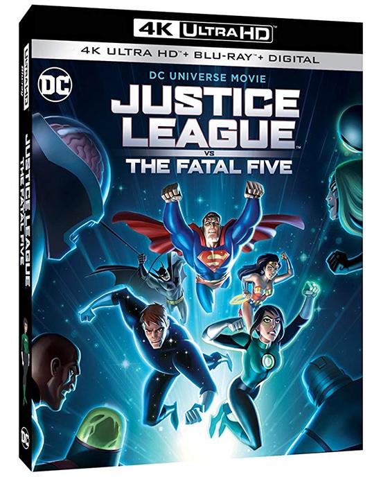 دانلود انیمیشن لیگ عدالت در مقابل مرگ 5 - Justice League vs the Fatal Five 2019