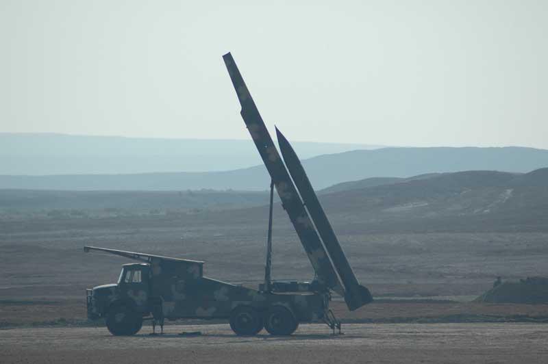 مجموعه عکس راکت انداز زلزال