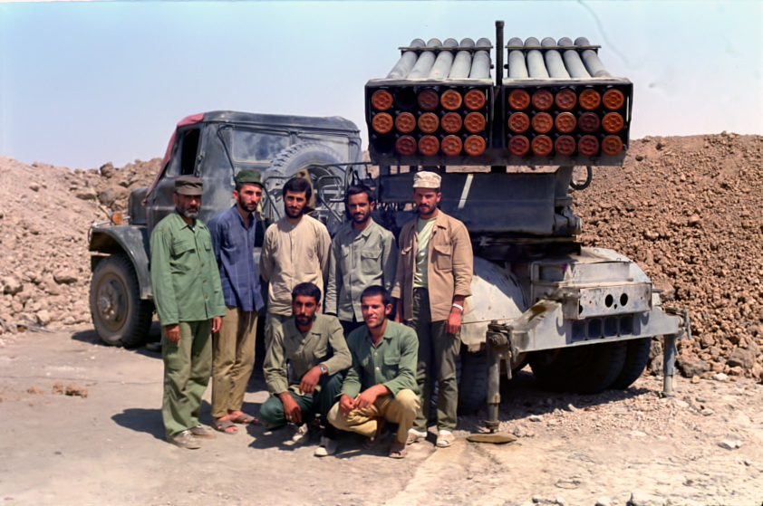 مجموعه عکس راکت انداز122م م